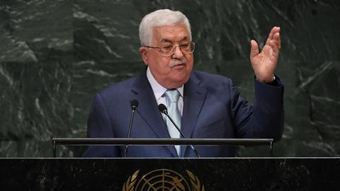 Abbas rejects 'biased' US as sole Mideast mediator