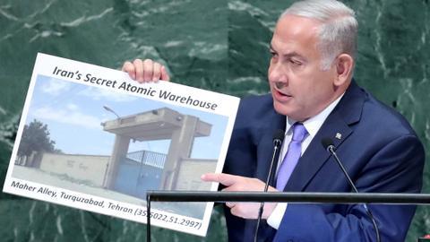 Netanyahu 'discloses' Iran's 'secret atomic warehouse'