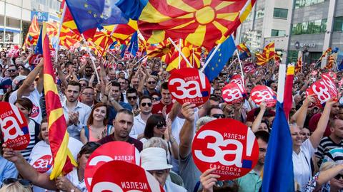 Macedonia, a nation divided heads to the polls