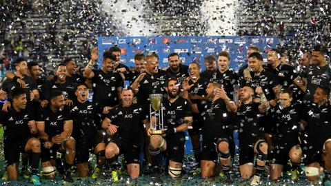 New Zealand win Rugby Championship after beating Argentina