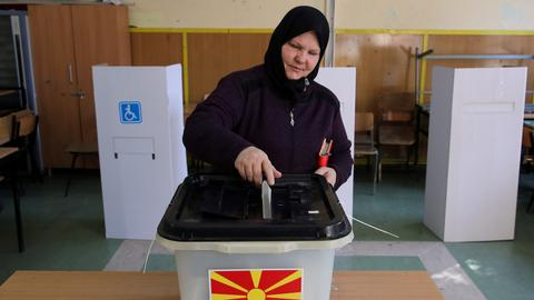 Polls open in landmark referendum on Macedonia's name