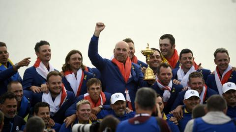 Europe beat United States to win Ryder Cup