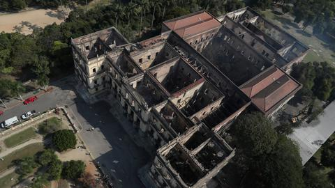 Restoration on Brazil's national museum begins