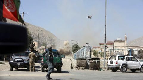 Suicide bomber kills at least 13 in Afghanistan election rally
