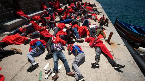 UN migration agency says 34 migrants drown in Mediterranean shipwreck