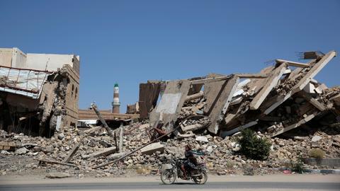 Air strike kills at least 10 civilians in Yemen's Hudaida