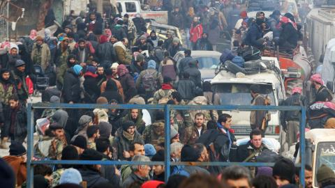 The evacuation of Aleppo is expected to be completed within days