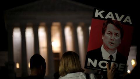 US senators start reading crucial new FBI file on Kavanaugh