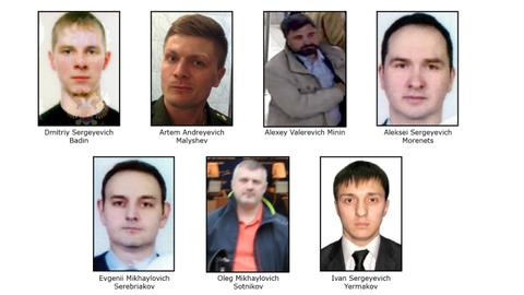 US indicts seven suspected Russian agents in global hacking conspiracy
