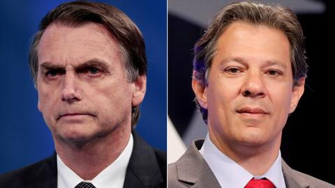 Poll shows Brazil's Bolsonaro in lead before presidential vote