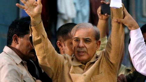 Pakistan opposition leader Shehbaz Sharif arrested in graft case