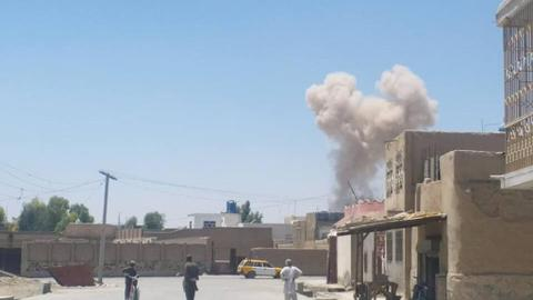 Air strike on Afghan wedding convoy kills four civilians and wounds eight