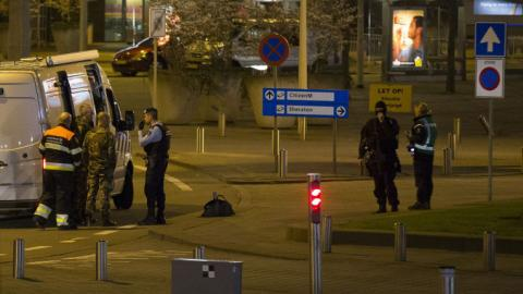 Amsterdam airport partially evacuated over security alert