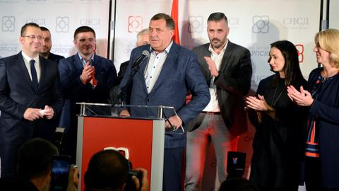 Nationalist parties win Bosnia's parliamentary vote – preliminary results