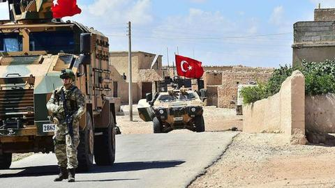 Turkey and US troops begin training for joint patrols in Syria's Manbij