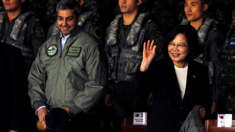 Taiwan leader calls on China to not be 'source of conflict'