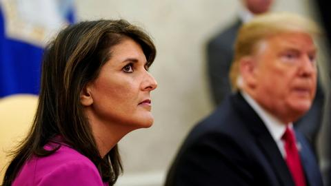 Timeline of significant events during Nikki Haley's tenure as UN envoy