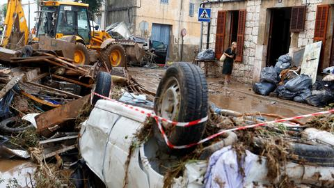 Britons among nine dead in Majorca flash floods