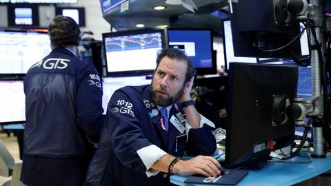Wall Street suffers ugly day amid mounting concerns over interest rates