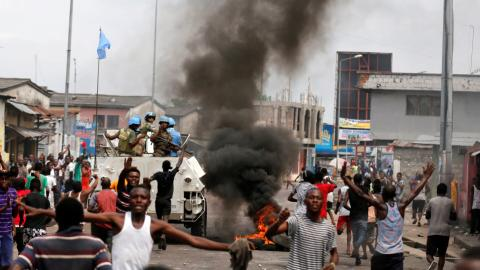 Clashes kill 34 in DR Congo as Kabila refuses to quit