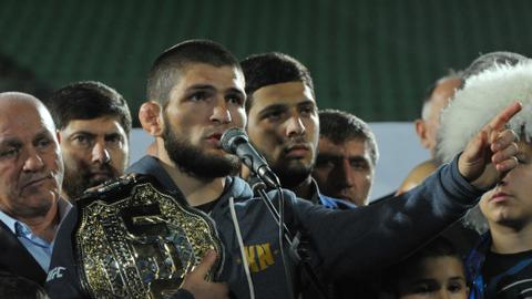 Khabib Nurmagomedov makes first public statement after controversial fight