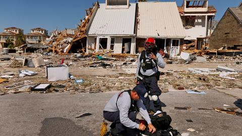 Death toll from Hurricane Michael rises as Florida towns remain cut off