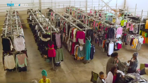 South African charity uses unsold clothing to help unemployed mothers