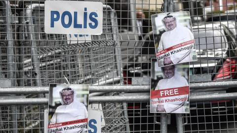 Turkish officials search Saudi consulate in Istanbul