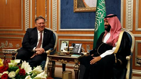 Pompeo is in Saudi Arabia on Khashoggi case, as US media point to kingdom