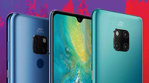 Huawei launches new flagship phones in bid to keep No 2 spot
