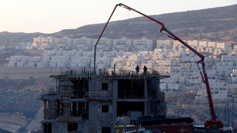 UN demands end to Israeli settlements on Palestinian territory