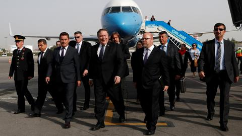 Pompeo arrives in Turkey to discuss Khashoggi case