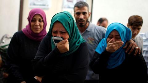 Israeli air assault on Gaza kills at least one Palestinian