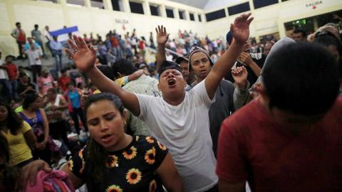 Honduras and Guatemala stop migrants after Trump threats