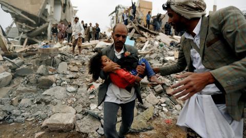Aid groups warn of civilian toll, violations in Yemen's Hudaida