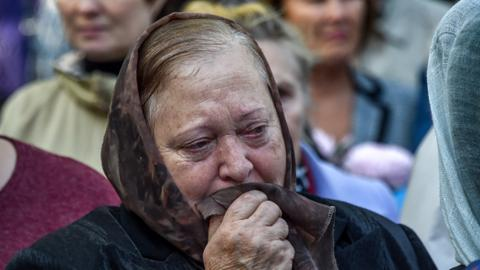 Crimea mourns after fatal college attack