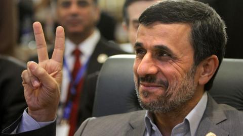 Is Mahmoud Ahmadinejad the most woke politician on Twitter?