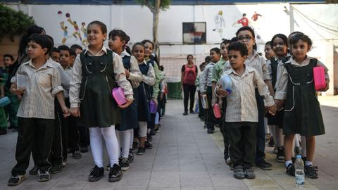 Pioneering school in Cairo struggles to fund pupils