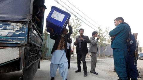 Afghans set to vote amid Taliban threats and corruption