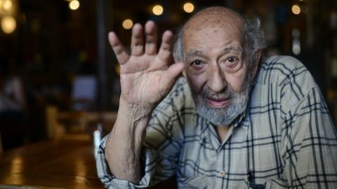 Funeral of legendary Turkish photographer Ara Guler held in Istanbul