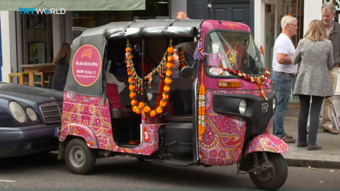 UK family uses tuk tuk to raise awareness about epilepsy deaths