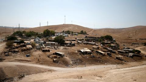 Israel delays demolition of Bedouin village in occupied West Bank