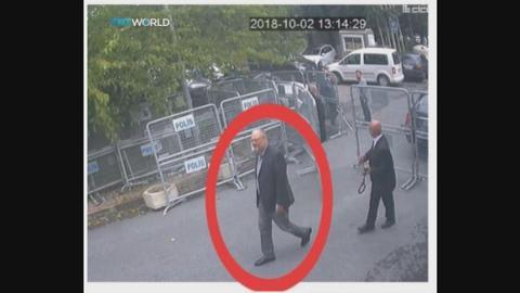 Exclusive pictures emerge of Khashoggi entering the Saudi consulate