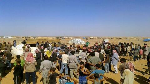 Remote Syrian refugee camp in desperate need of aid