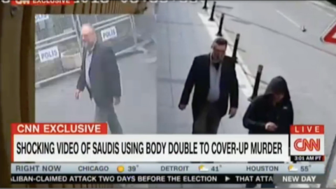 CNN releases video of alleged Khashoggi body double in Istanbul