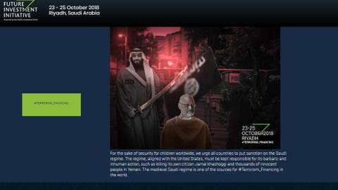 Saudi Arabia's 'Davos in the Desert' website hacked