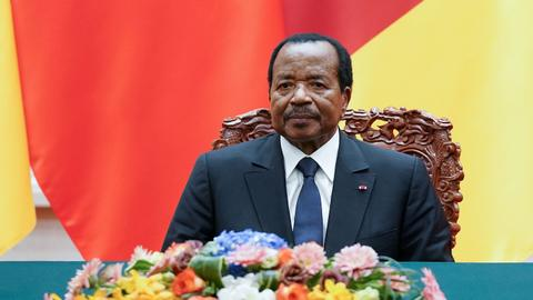 Biya wins Cameroon re-election by a landslide