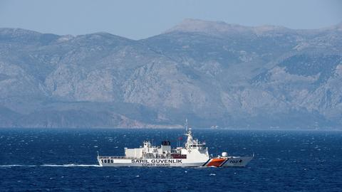 Turkey says it will not tolerate shift in Greek maritime border