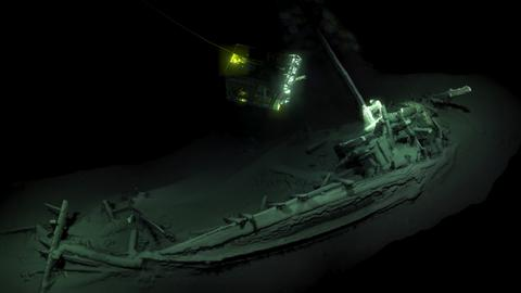 World's oldest intact shipwreck found in Black Sea