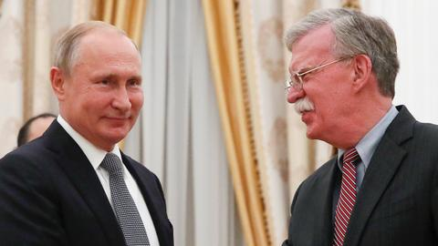 Bolton tells Kremlin: 'Don't mess with US elections'